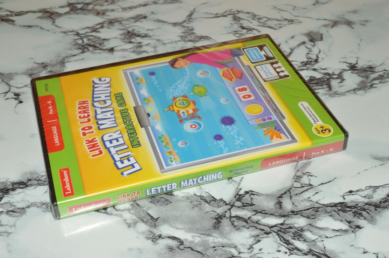 NEW - Link To Learn - Letter Matching Language Game PC / MAC CD-ROM Lakeshore - $12.68