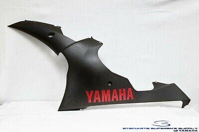 2008 - 2016 YAMAHA YZF R6 BLACK LEFT SIDE FAIRING UNDER COVER ASSY COWL 08-16 R6