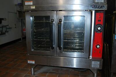 Vulcan Vc4ed Double Stack Full Size Electric Commercial Convection Oven