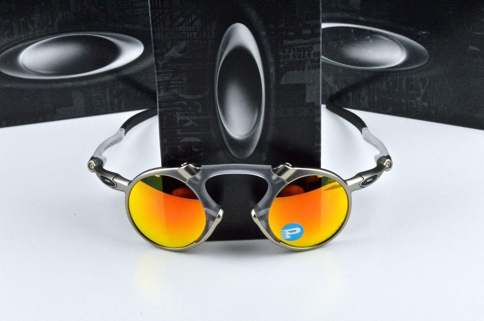 7d541c3170c UPC 888392097057 product image for Oakley Madman Round Sunglasses 0oo6019  601907 41 Pol