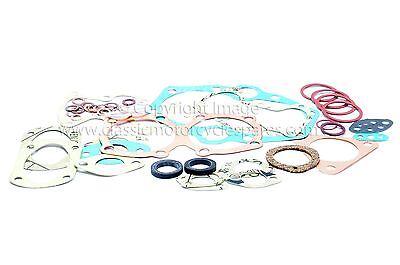 GASKET SET TRIUMPH T110 TR6 1956 62 812TRI UK MADE