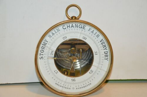 Antique HOLOSTERIC BAROMETER PHNB Naudet Pertuis & Hulot FRANCE (For Parts Only)