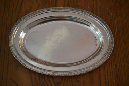 S.S. United States Lines Ocean Liner Oval Serving Tray