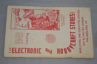 E&H MODEL RAILROAD CATALOG 1949 VINTAGE ELECTRONIC AND HOBBYCRAFT STORES PHILA.