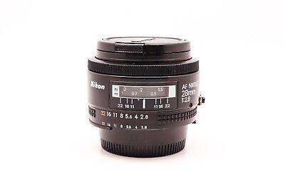 Nikon AF Nikkor 28mm F/2.8 Lens - 210878