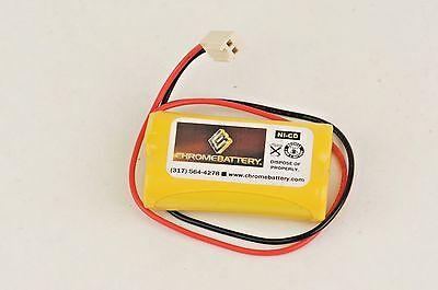 Emergency Lighting Battery 2.4v 800mah Replaces Dual-lite 120822 0120822
