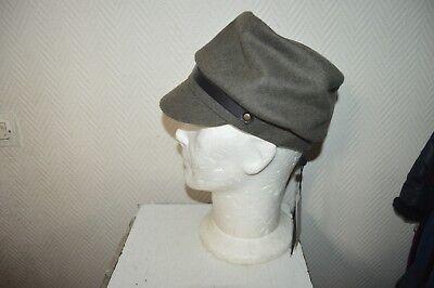 Hut Soft Mütze Cop Copine NEU GRÖSSE S/M Umhang Snapback Wolle / Wolle Neu
