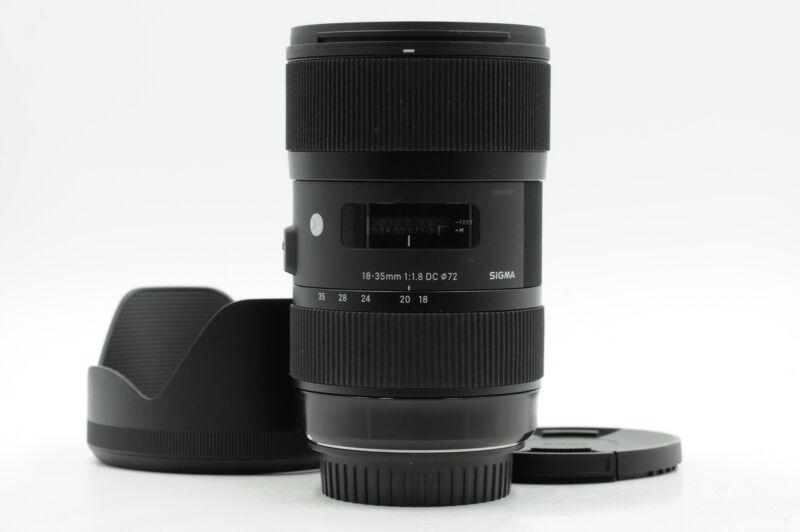 Sigma AF 18-35mm f1.8 DC HSM Art Lens Canon EF #451