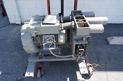 Fuji Regenerative Blower 10.7 Hp 208-230460 Volts Vacuum Fan Vfz801a-7w