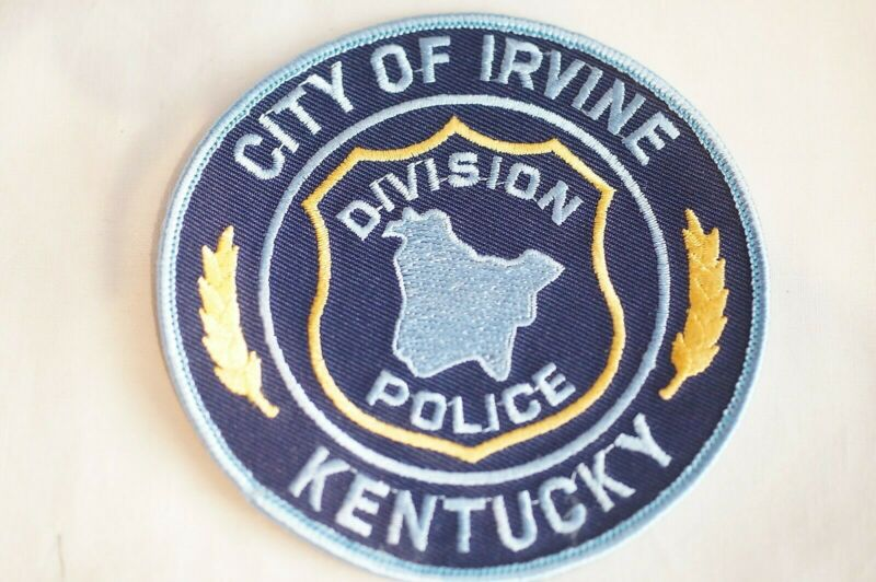 US City of Irvine Kentucky Police Patch