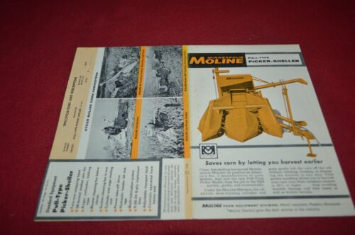 Minneapolis Moline Corn Picker Sheller Dealer Brochure AMIL15 ver2