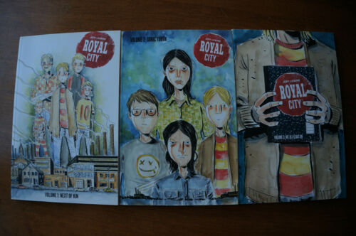 Royal City Volume 1, 2, 3 TPB Paperback Jeff Lemire