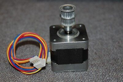 Nema 17 Stepper Motor Minebea Hybrid - Cnc 3d Printer Robotics 17pm-k103-p2v