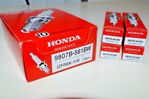 4 PCS NGK IZFR6K-11S 9807B-561BW Spark Plugs NEW OEM LASER IRIDIUM HONDA CIVIC