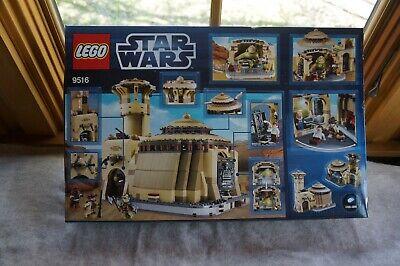 LEGO 9516 Star Wars Jabba's Palace NEW slightly worn box
