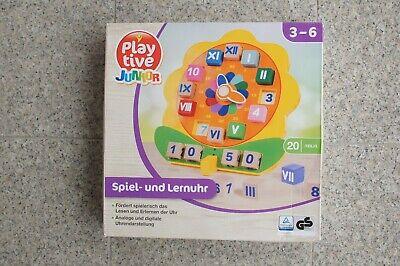 Spiel und Lernuhr  für 3-6 Jahre alt. Play Tive Junior  (6 Jahre Alte Spiele)