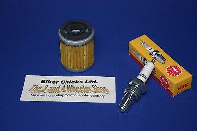 YAMAHA 83-86 YTM225 Tri-Moto Tune Up Kit   NGK Spark Plug & Oil Filter