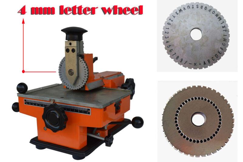Semi-automatic Plate Embossing Machine Metal Marking Machine Sheet Embosser