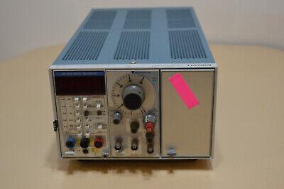 Tektronix Tm503 Mainframe Dm 501a Multimeter Fg 503 Function Generator