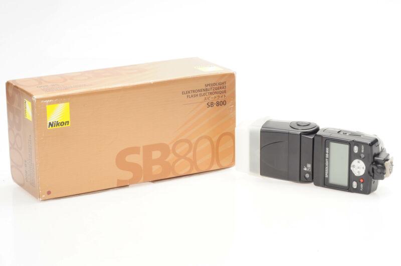 Nikon SB-800 Speedlight Flash SB800                                         #811