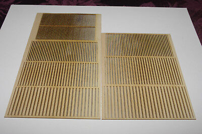 Ho scale lumber set, 2X4 @ 8' and 2X  6, 8 and 10. at 10' and 12' leingths. - Ho Scale Timber