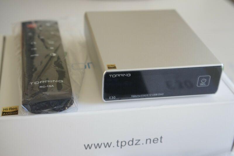 Topping E30 DAC Silver