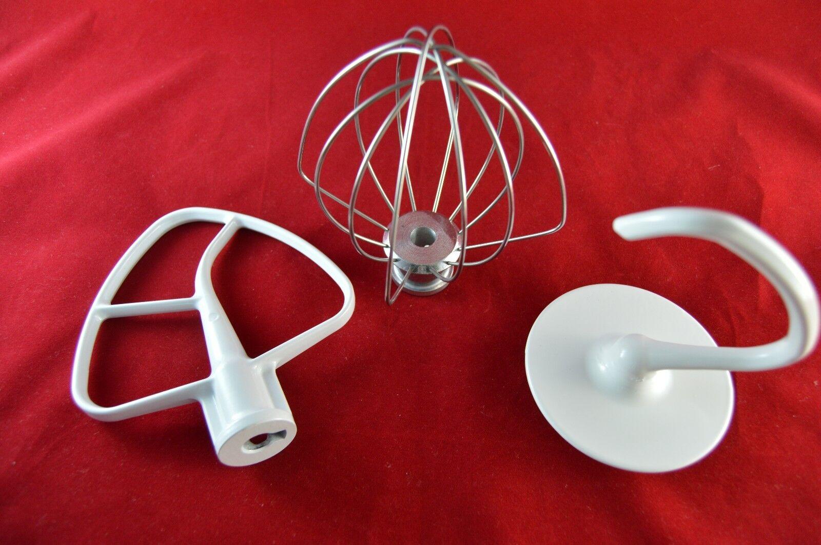 KITCHENAID KSM150 Artisan Mixer Set - Flat Beater, Wire Whip