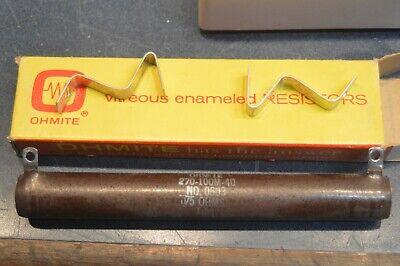 Ohmite 75 Ohm 100 W Watt Wirewound Power Resistor 0603.