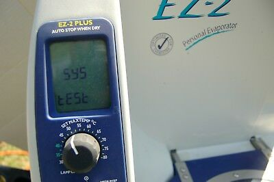 Sp Scientifc Genevac Ez-2 Evaporator With Rotor Concentrator Personal Lab