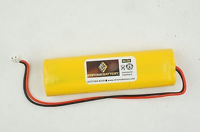 Emergency Lighting Battery 4.8v 800mah Replaces All Fit Ejw-nicad Nic0991