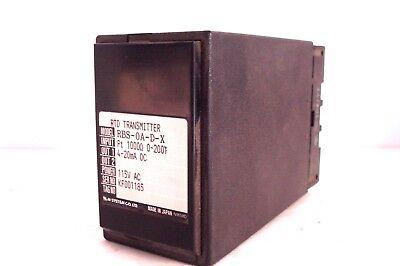New M System Rtd Transmitter Rbs-0a-d-x