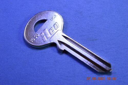 Ilco 1636 keyblank for various Lockbox & Safe key locks Brinks, McGunn and other