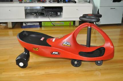 Kids PlasmaCar Red Scooter Ride on Car Toy Glenfield Campbelltown Area Preview