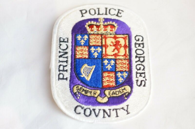 US Prince Georges County Maryland Police Patch