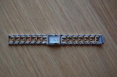 Esprit Elegancy Watch, Silver/Gold/Clear, Size Adjustable