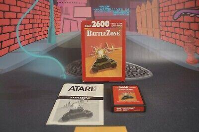 Battlezone for Atari 2600 Vcs