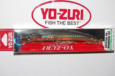 4712 Yo Zuri Crystal Minnow S 110 mm Sinking Lure F10-GHGT