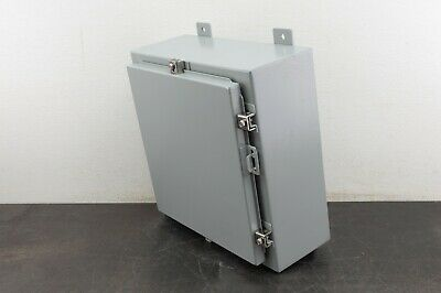 Hoffman Electrical Enclosure A16h16alp 16x16x6 Box Control Type 4 12