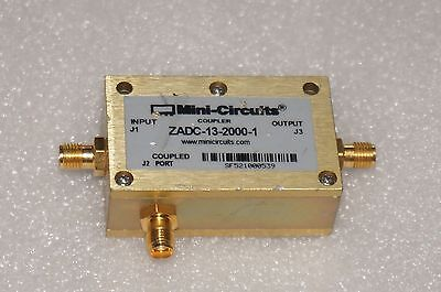 Mini-circuits Directional Coupler Zadc-13-2000-1-13db Sma Rf Type 800mhz To 2ghz