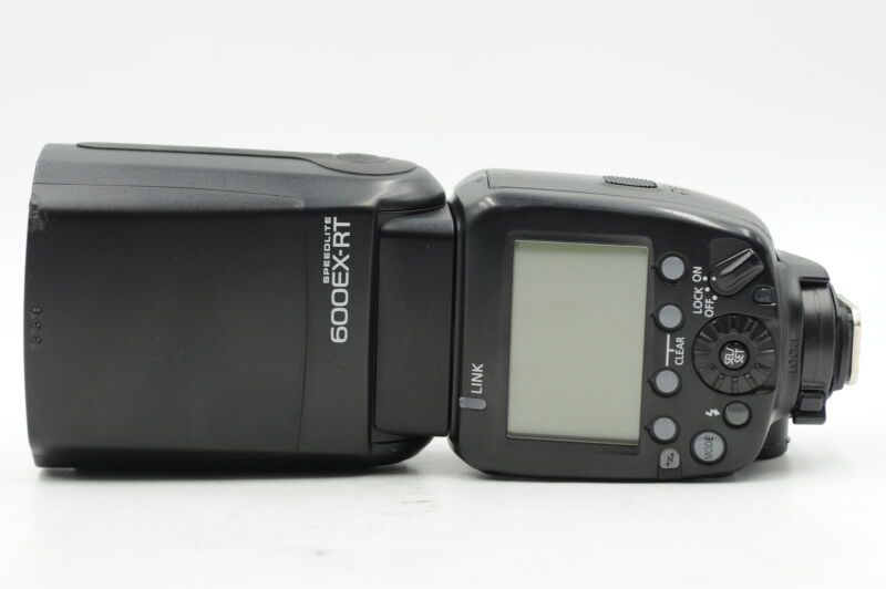 Canon 600EX-RT Speedlite Flash #408