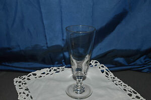 grand verre ancien a absinthe verre de bistrot en verre souffle fin 19 eme ebay. Black Bedroom Furniture Sets. Home Design Ideas