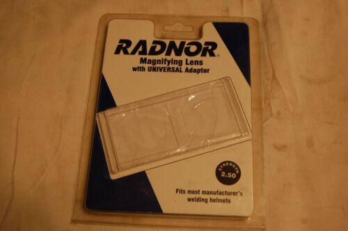 Radnor Magnifying Lens with Universal Adaptor - Strength 2.50