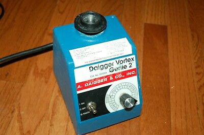 Diagger Genie 2 Vortexer Vortex Shaker Mixer Used Lab Rotator Scientific Wdsa