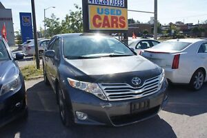 2010 Toyota Venza V6   LEATHER   BACKUP CAM   PANO ROOF   NO ACC