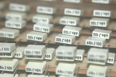 Arcotronics R85ec2680dq60j 0.068mf 100v 5 Capacitor New Lot Quantity-15