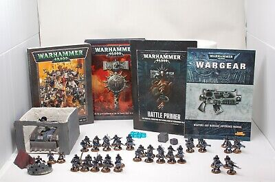 Warhammer 40k Lot Army Imperial Guard Astra Militarum Fully Painted
