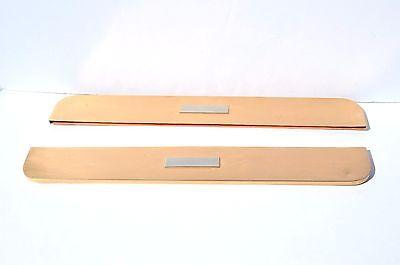 Desk Pads And Blotters - BEAUTIFUL ART DECO BRONZE AND CHROME DESK BLOTTER PAD CORNER & SIDES