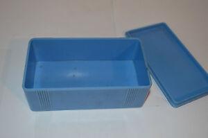 VINTAGE BAKELITE KLEEWARE BLUE BOX