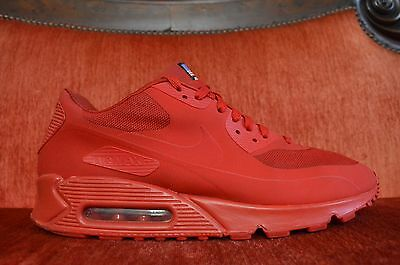 NIKE AIR MAX 90 HYPERFUSE QS SPORT RED INDEPENDENCE DAY 613841-660 SIZE
