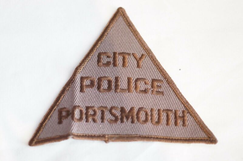 US Portsmouth City New Hampshire Police Patch